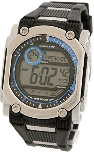 Dunlop Reloj Digital para Hombre de Automático con Correa en Resina DUN-78-G03: Amazon.es: Relojes
