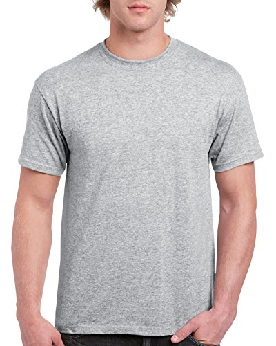 - Gildan Men's G2000 Ultra Cotton Adult T-Shirt, Sport Grey, Small