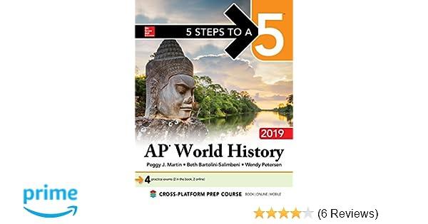 Amazon com: 5 Steps to a 5: AP World History 2019