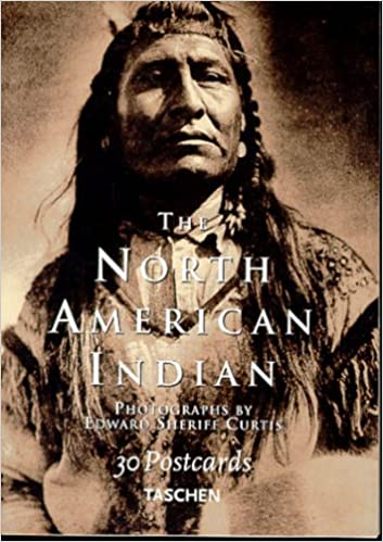 north american indians 30 postcards