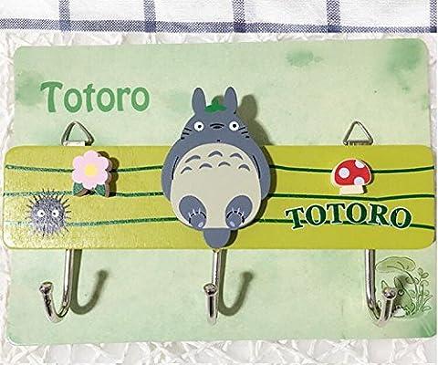 Amazon.com: My Neighbor Totoro Magic Hook Hanger Wall Hook Towel ...