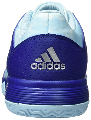 Silver adidas Adults' Blue Mystery Footwear Unisex Ink Metallic Volleyball Shoes White Ligra 5 Hwyrzwqg4