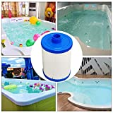 Feileng Children Swimming Pool Replacement Filter Cartridges Strainer for Hot Tub Spas Swimming Pool Applied