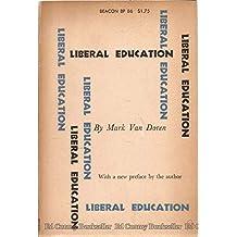 Liberal education (Beacon paperback no. 86)