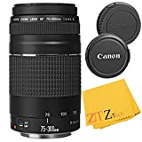 Canon EF 75-300mm f/4-5.6 III Telephoto Zoom Lens for Canon EOS Rebel T5