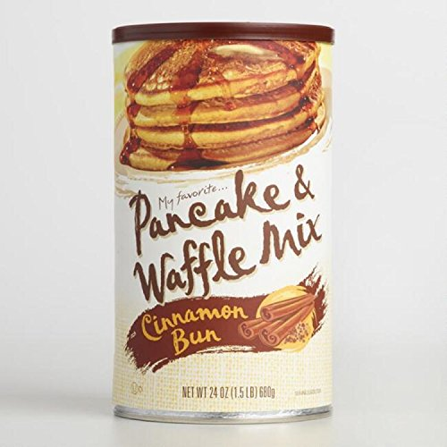My Favorite Cinnamon Bun Pancake and Waffle Mix - 24 ()