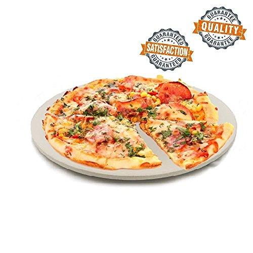 "15 "" Round Cooking Pizza Stone 15MM Thick Corderite Cooks Perfectly every time!"