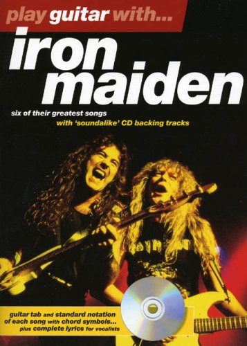 Play Guitar With... Iron Maiden ePub fb2 book