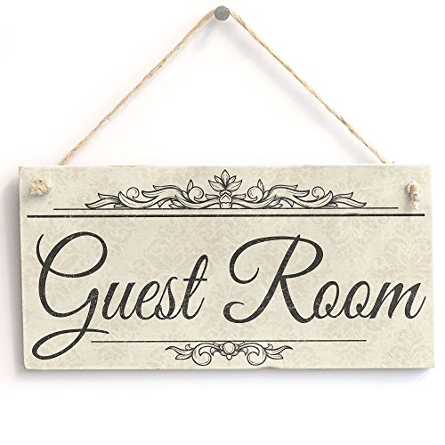 Guest Room - Handmade Shabby Chic Wooden Sign/Plaque