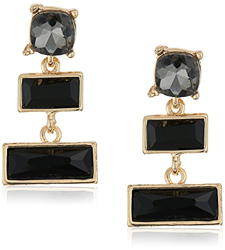 t-tahari-gold-and-jet-triple-stone-drop-earrings