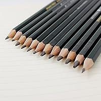 PINDIA Set of 12 Professional Graphite Drawing & Sketching Pencils(2H-12B)