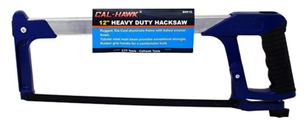 Cal Hawk Tools BHF12 12'' Heavy Duty Hacksaw