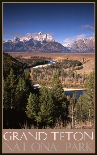 Northwest Art Mall Grand Teton National Park TST Photo Wall Art by IKE Leahy, 11 by ()