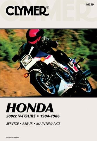 1984 Manual - Clymer Repair Manual for Honda VF500 VF-500 V-Fours 1984-86