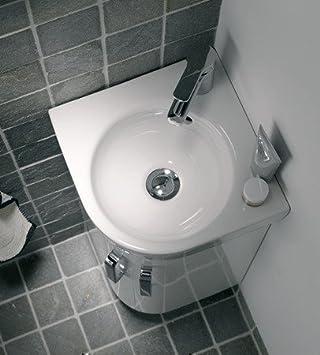 Wunderbar Keramag Renova Nr. 1 Comprimo NEU Eck Handwaschbecken, Schenkellänge 32 Cm  Weiß