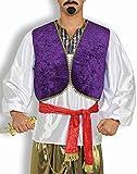 Forum Novelties Men's Desert Prince Costume Shirt and Vest, Multi, One size