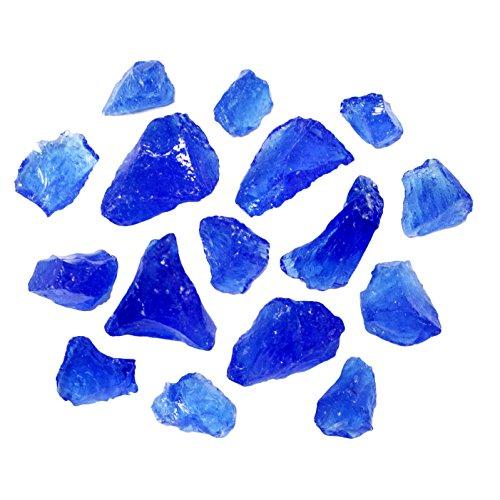 turquoise fireplace rocks - 7