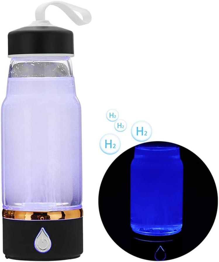 Electrolysis Hidrógeno Botella de Agua Generador Purificador ...