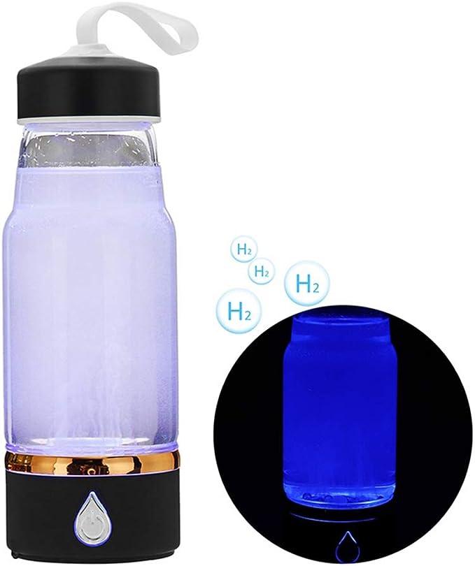 Hidrógeno Botella de agua Electrolisis Frasco Generador ...