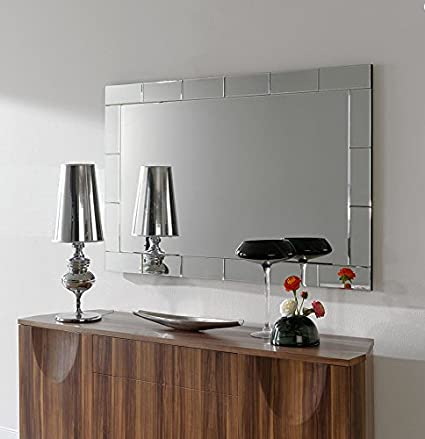 Dugarhome Espejos Modernos Cristal Rectangular 150x95 Amazon - Espejos-modernos