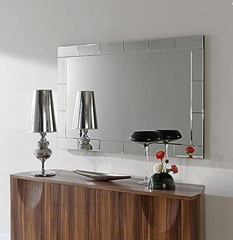 Dugarhome - Espejos Modernos Cristal - Rectangular (150x95 ...