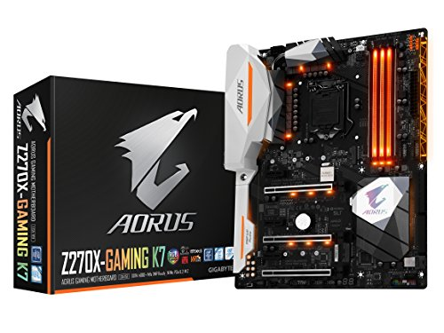 Gigabyte Aorus Gaming LGA1151 Intel Z270 2-Way SLI…