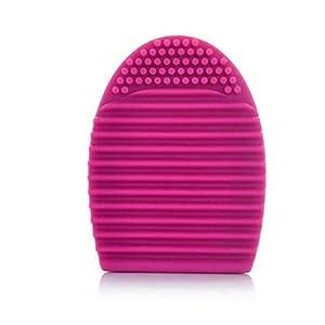 Internet Nettoyage de Maquillage Gant Lavage Brosse épurateur Conseil Cosmétique Propre Hot Pink
