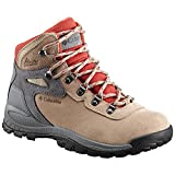 Columbia Women's Newton Ridge Plus Waterproof Amped Hiking Boot, Oxford Tan, Flame, 11 Regular US