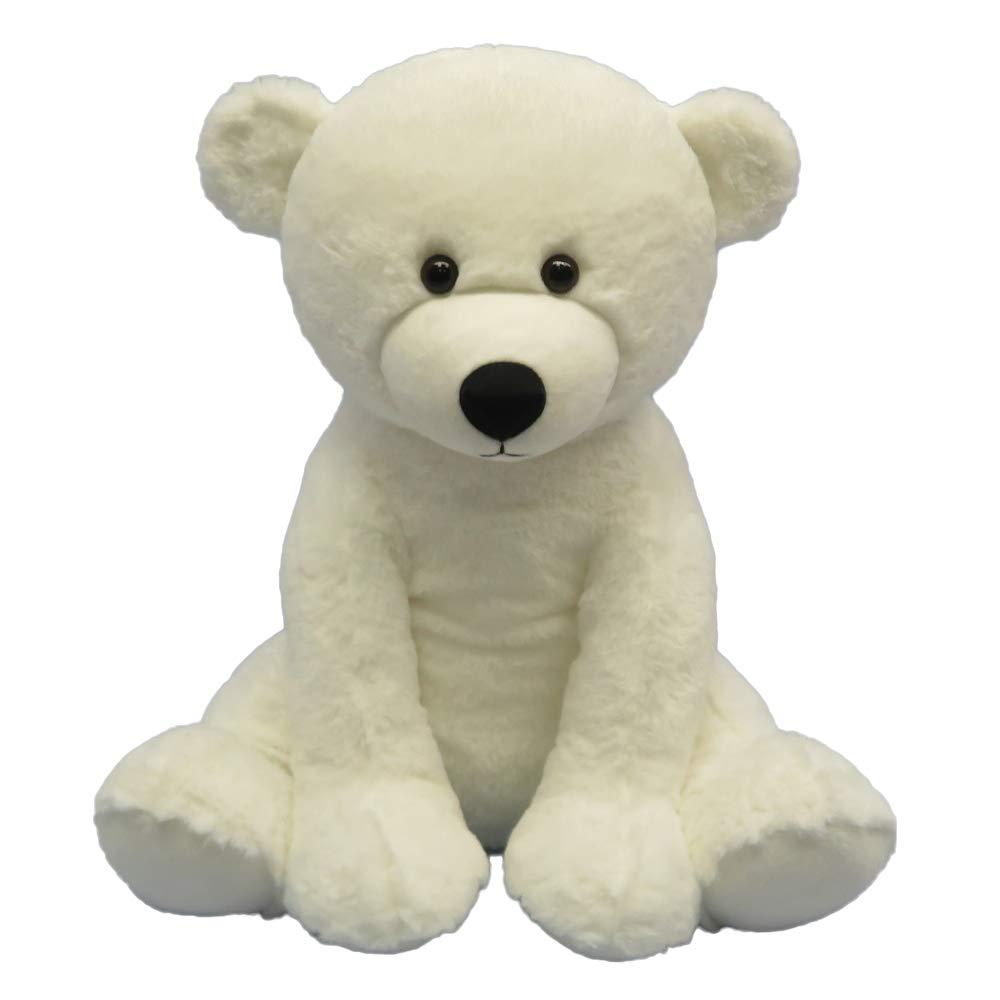 DORE Teddy Bear Stuffed Polar Bear Animals Plush Toys for Children,15.7