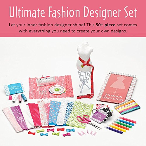 51PCf6jccHL - Creativity for Kids Designed by You Fashion Studio, Fashion Design Kit For Kids