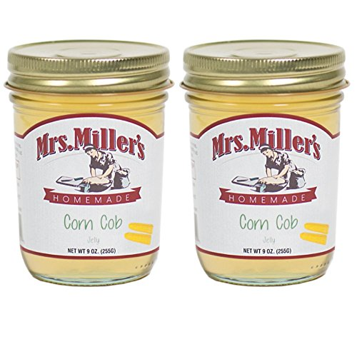 - Mrs. Miller's Amish Homemade Corn Cob Jelly 9 Ounces - Pack of 2