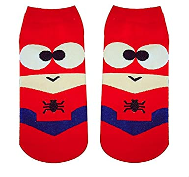 3639f5779037 Arena Collectives Spider Man socks superheroes Unisex Marvel Comics sock  slippers