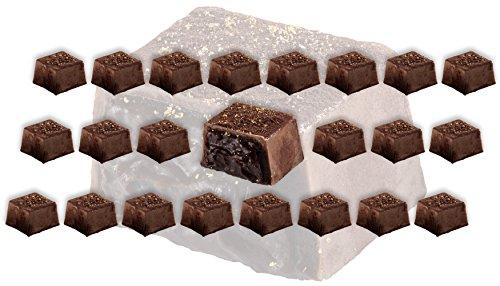 Gourmet Dark Chocolate - with 24 Karat Gold - Truffles -, ideal for birthday, anniversary and wedding gift (24 Pack)