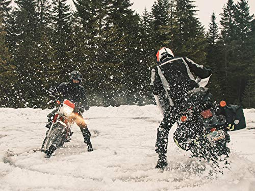 Conquering Winter With a Kawasaki KLR650 and Yamaha TW200 - Yamaha Bases