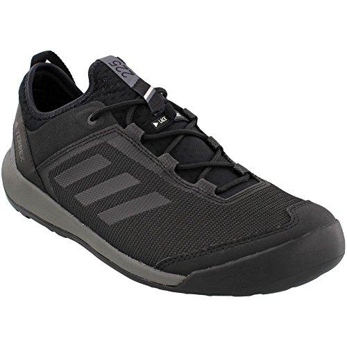 adidas outdoor Mens Terrex Swift Solo Utility Black, Black, Grey Four