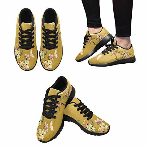 Scarpa Da Jogging Leggera Da Donna Running Running Leggera Easy Go Walking Comfort Sport Scarpe Da Corsa Chinese Painting Flower Multi 1
