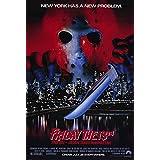 "Friday the 13th Jason Takes Manhattan Vintage Large Movie Poster  27/"" x 40/"""