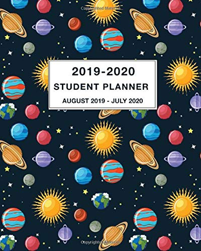 Amazon.com: 2019-2020 Student Planner August 2019 - July ...