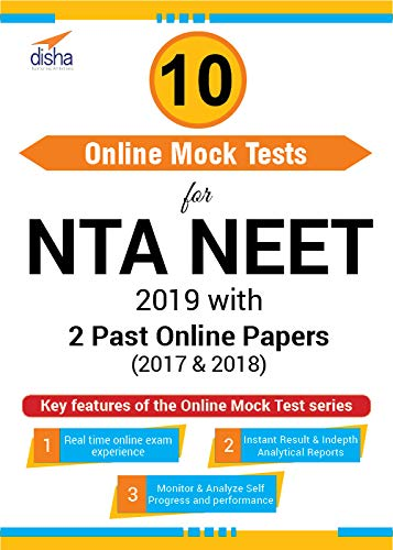 Disha Publication 10 Mock Test for NTA NEET 2019 with 2 Past Papers