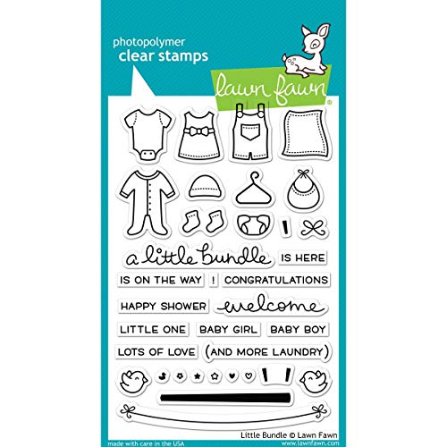 Baby Shower Stamp - Lawn Fawn Clear Stamps 4