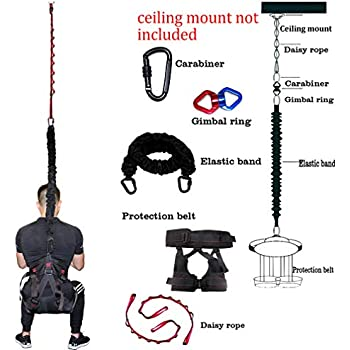 Sunsign Bungee Workout Train Cords Aerial Dance Anti-Gravity Yoga Equipment for