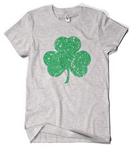 Cybertela Green Three Leaf Clover Men's T-shirt