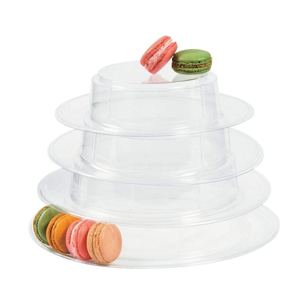 Plastic Macaroon Cookie Stand (9 1/2