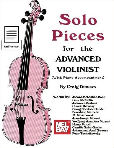Amazon com: Solo Pieces for the Advanced Violinist (9780786690589