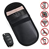 Keyfob RFID Signal Blocking Bag Faraday Cage, Key Fob Guard Protector Device Shielding, Anti-hacking Assurance For Wireless Car Keys, KeyFOBs, Keyless Entry, Car Key Remotes, Credit Card Protection