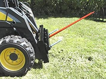 Skid Steer Bale Spear Attachment w/ 49'' Spike - MD