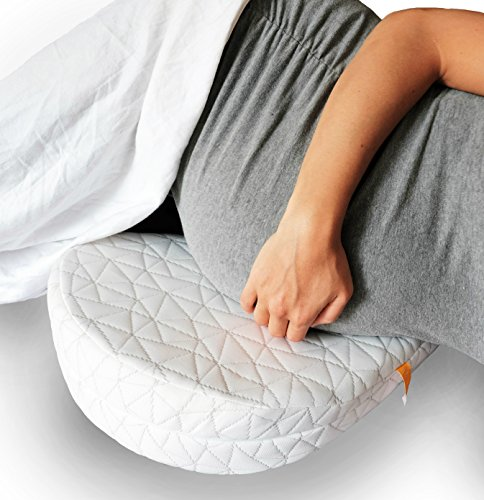 Jill & Joey Pregnancy Wedge Pillow – Support Your Body, Belly, Back & Knees During Maternity – Soothes Pelvic Pain and Helps Sleeping – Firm Memory Foam, Washable Cover and Travel Bag