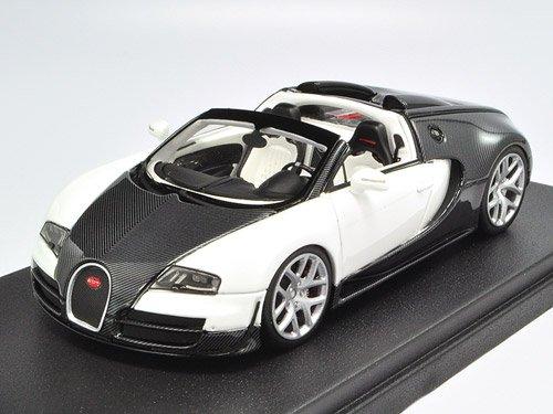 1/43 Bugatti Vitesse ブラックカーボン/ホワイト LS396C
