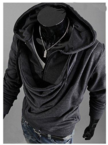 TM Men hip hop Cosplay Hoodies Long Sleeve Jackets Coats Outerwear Top
