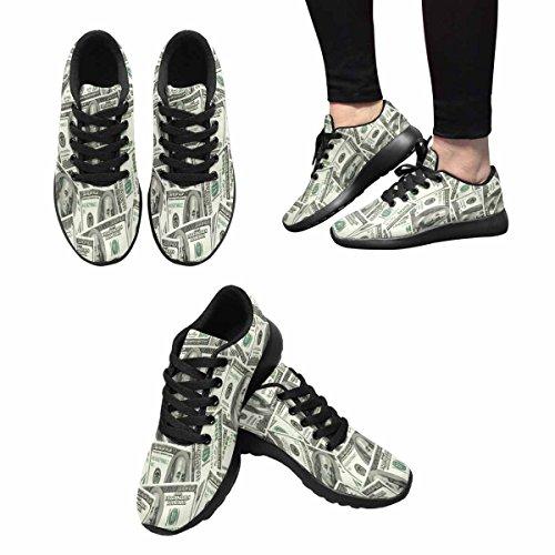 Chaussures De Course De Trailprint Womensprint Footing Jogging Sports Légers À Pied Chaussures De Sport Athlétiques Billets De 100 Dollars Multi 1
